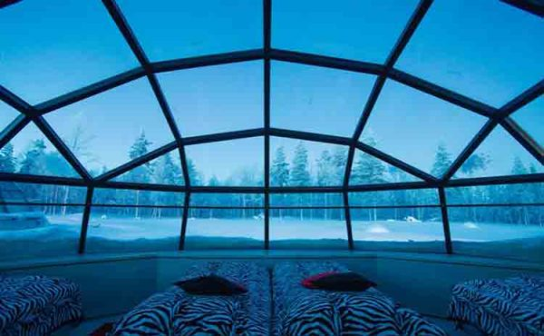 5 NIGHTS 8 DAYS KAKSLAUTTANEN ARCTIC RESORT LAPLAND THE NORTHERN LIGHT SAARISELKA